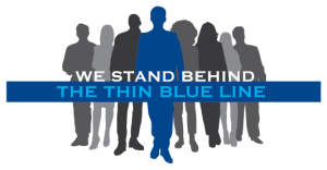 We Support Thin Blue Line